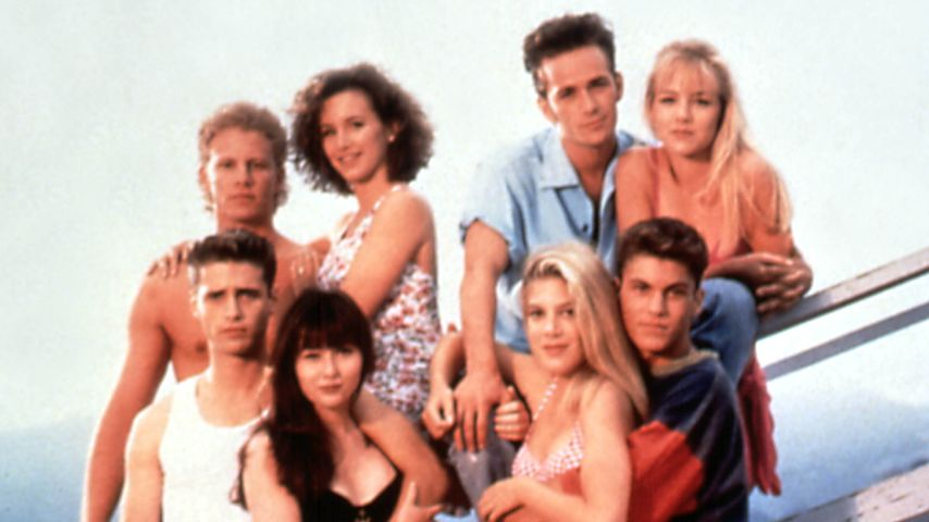 Stand Brian Austin Green am 90210-Set auf Tori Spelling?
