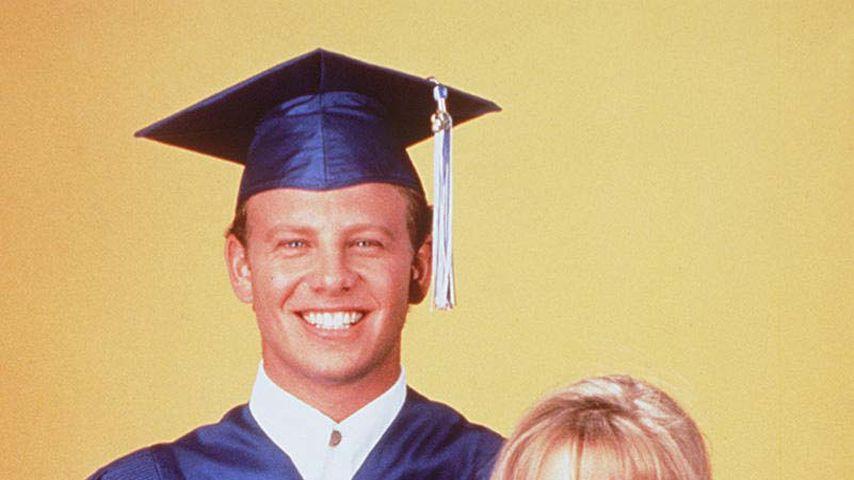 """Ian Ziering (o.), Luke Perry und Jennie Garth in """"Beverly Hills, 90210"""""""