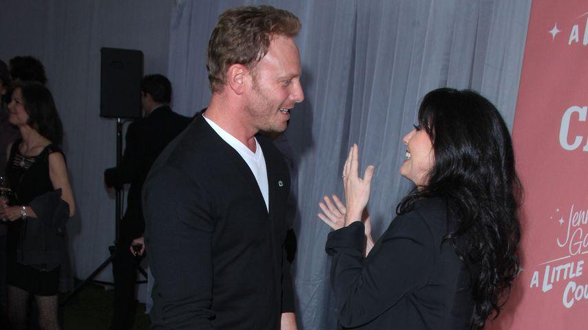 "Ian Ziering und Shannen Doherty, ehemalige ""Beverly Hills, 90210""-Kollegen"