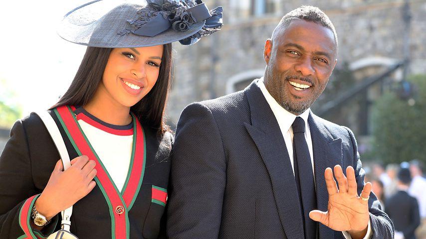 Idris Elba und Sabrina Dhowre auf Schloss Windsor