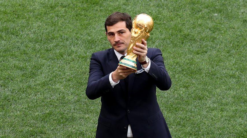 Iker Casillas bei der WM-Eröffnung