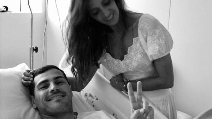 Iker Casillas und seine Frau Sara Carbonero