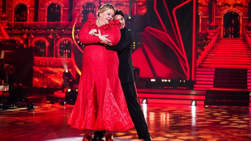 """Ilka Bessin und Erich Klann tanzen in der 1. Live-Show von """"Let's Dance"""" im Februar 2020"""