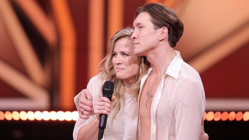 """Ilse DeLange und Evgeny Vinokurov bei """"Let's Dance"""""""