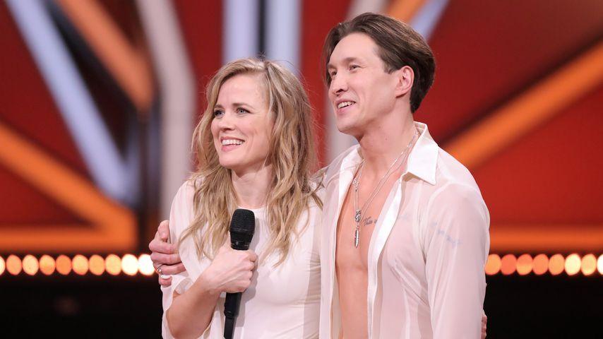 """Ilse DeLange und Evgeny Vinokurov bei """"Let's Dance"""" 2021"""