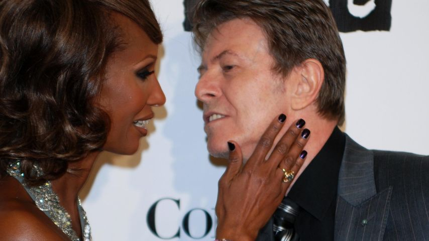 Öffentliche Trauer: David Bowies Witwe Iman nimmt Abschied