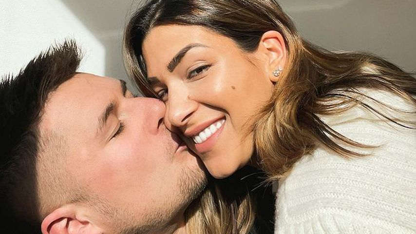 Inci Sencer mit ihrem Mann Daniel, Februar 2021