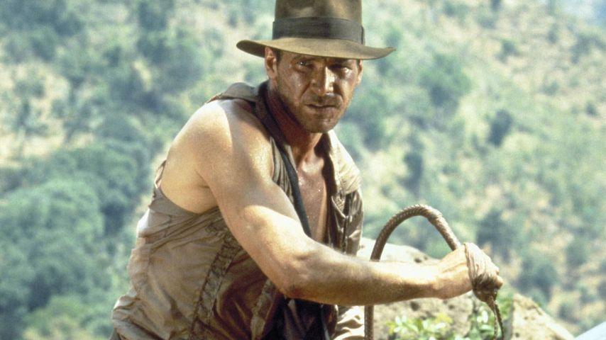 Harrison Ford als Indiana Jones in dem ersten Teil der Reihe