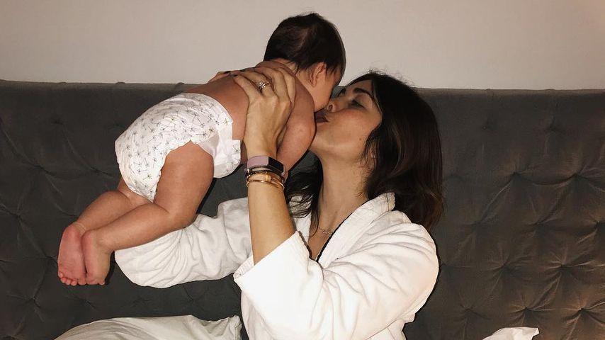 Ira Meindl mit Töchterchen Emilia