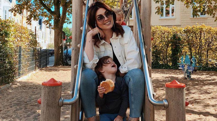 Ira Meindl mit ihrer Tochter, 2019