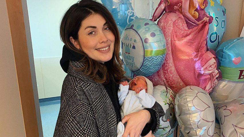 Ira Meindl mit ihrem Sohn