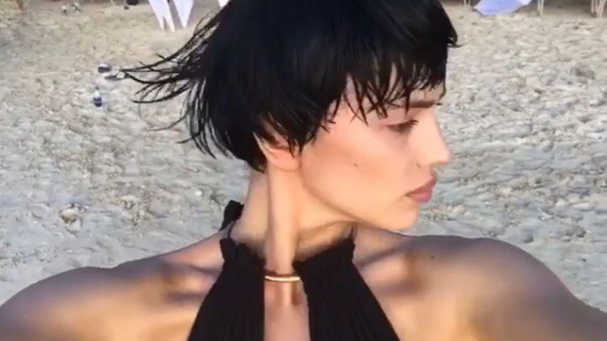 Pixie-Cut! Model Irina Shayk überrascht mit Kurzhaar-Frisur
