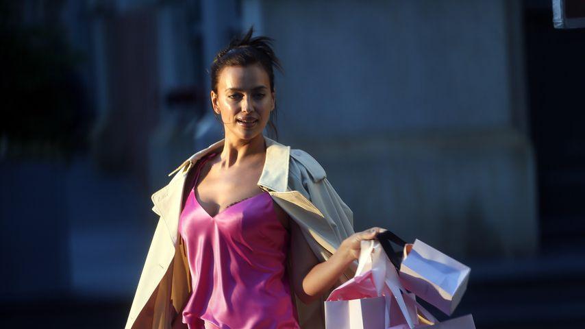 Ganz schön heiß: Irina Shayk shootet für Victoria's Secret