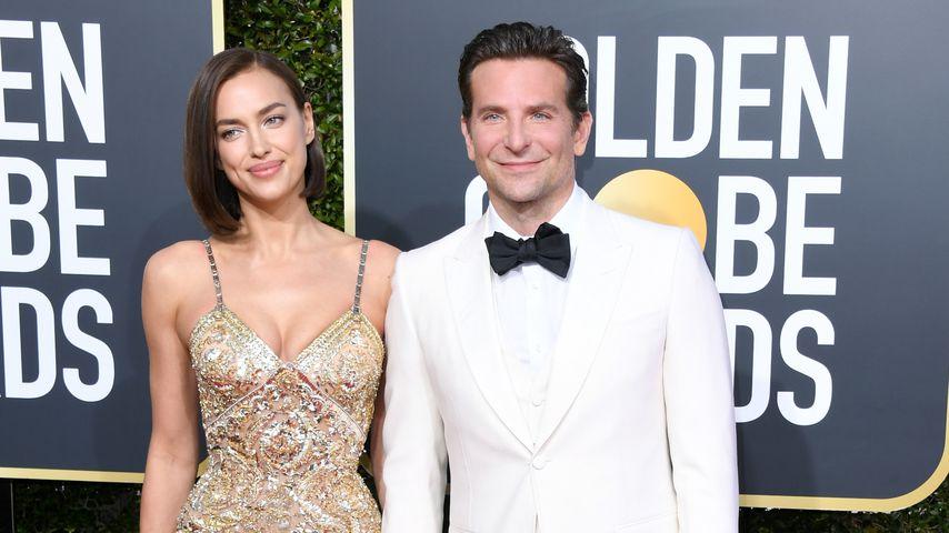 Irina Shayk und Bradley Cooper bei den Golden Globe Awards 2019