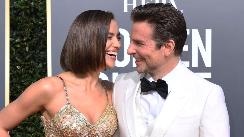 Irina Shayk und Bradley Cooper bei den Golden Globes 2019