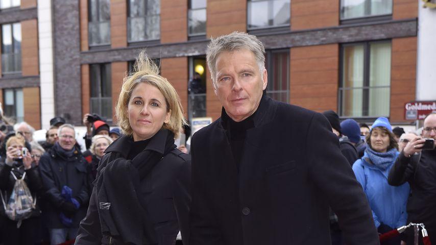 Irina und Jörg Pilawa im Januar 2020 in Hamburg