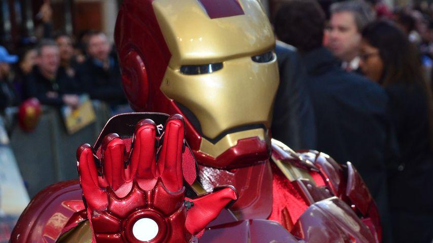 Robert Downey Jr. flennte in seinem Iron-Man-Anzug