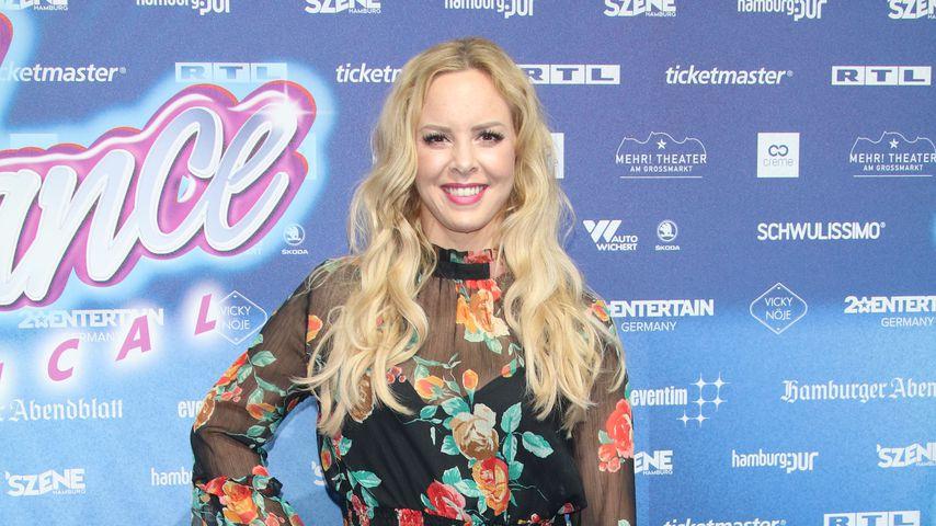 """Isabel Edvardsson bei der Premiere des """"Flashdance""""-Musicals"""