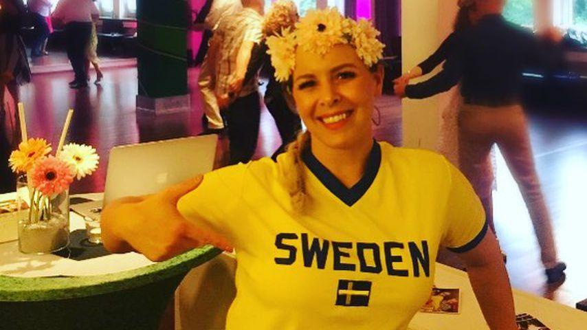 Schweden-Niederlage: Isabel Edvardsson nimmt es mit Humor!