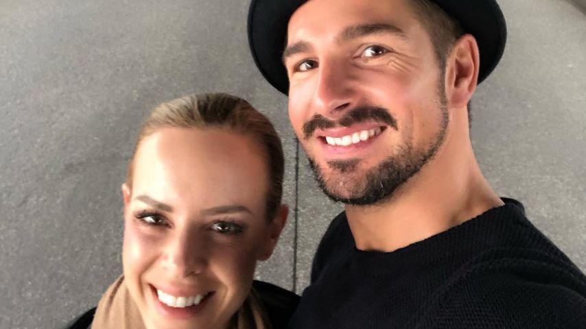 Isabel Edvardsson holt Family zum Training mit Benjamin dazu