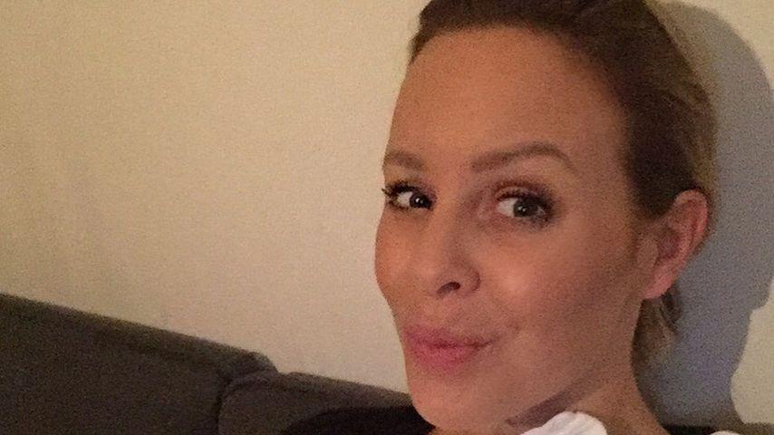"""So stolz"": Isabel Edvardsson bietet seltenen Baby-Einblick!"