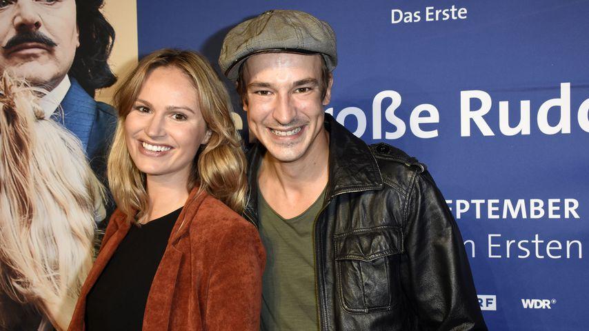 Isabell Ege und Sebastian Fischer beim exklusiven Screening des ARD Fernsehfilms Der große Rudolph i
