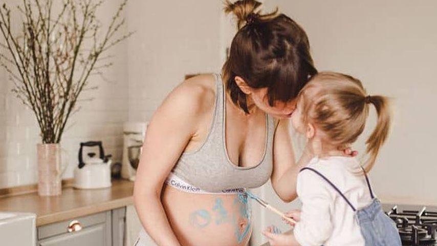 Schauspielerin Isabell Horn mit ihrer Tochter Ella