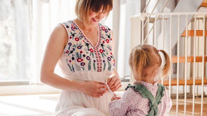 Isabell Horn und ihre Tochter Ella
