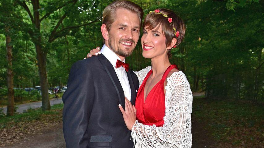 Isabell Horn und Jens Ackermann sind Hochzeitsgäste bei Sila Sahin