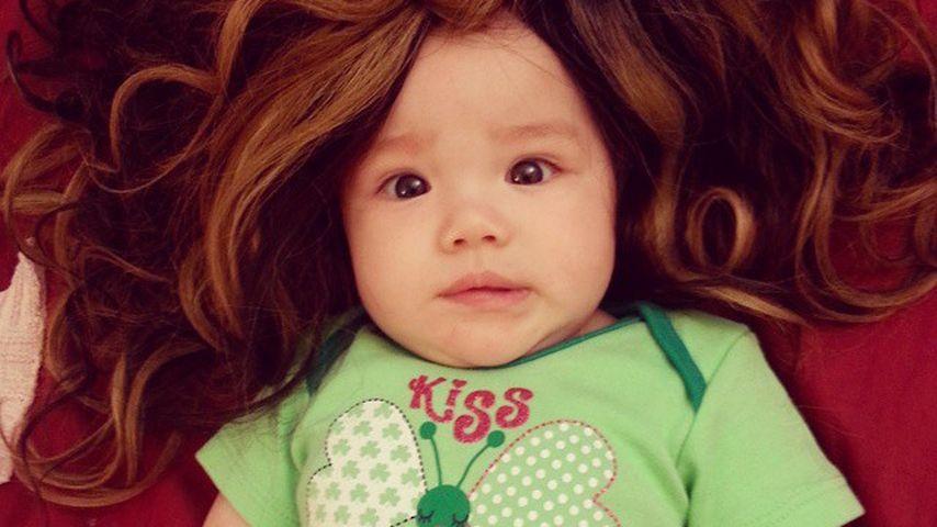 Huch: Tila Tequila zeigt ihr haariges Baby Isabella