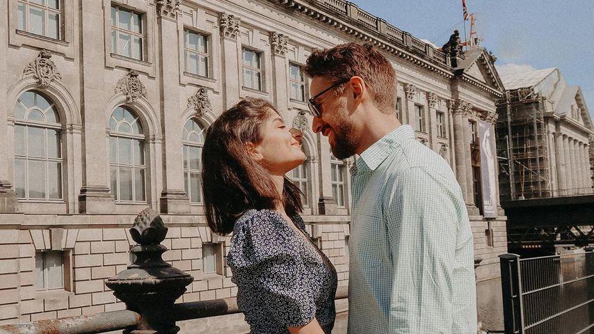Ischtar Isik mit ihrem Freund Tommy, Mai 2020