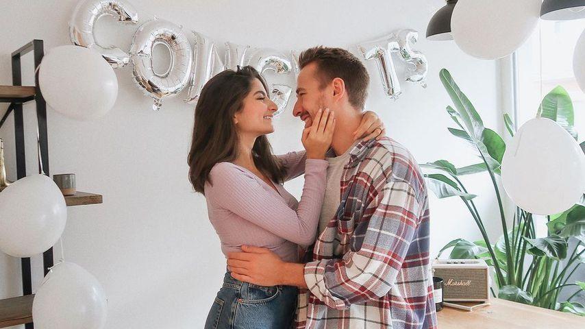 Ischtar Isik und ihr Verlobter, November 2020