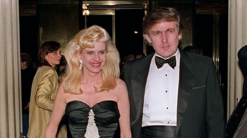 Ivana und Donald Trump 1989 in New York