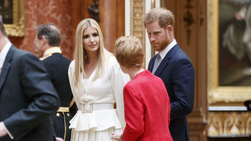 Ivanka Trump und Prinz Harry im Juni 2019