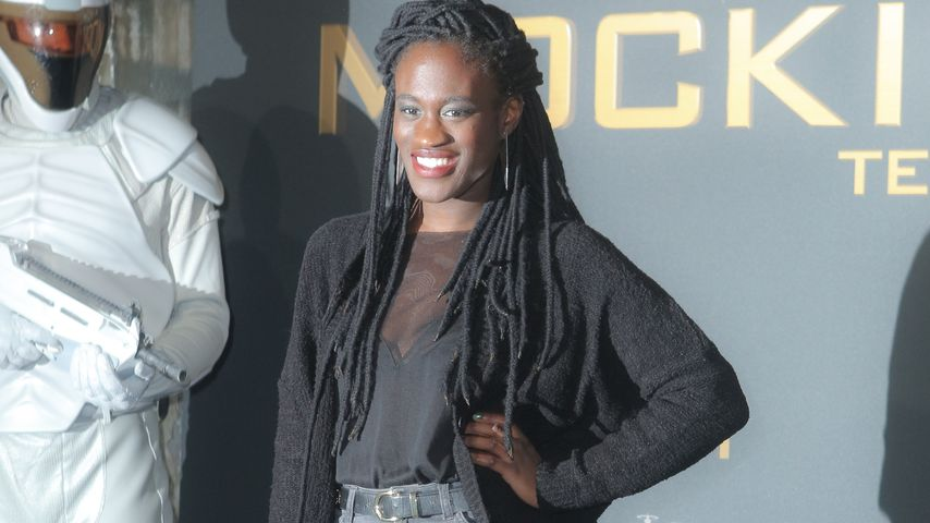 Ivy Quainoo beim 'The Hunger Games: Mockingjay Part 1' Preview Event in Berlin