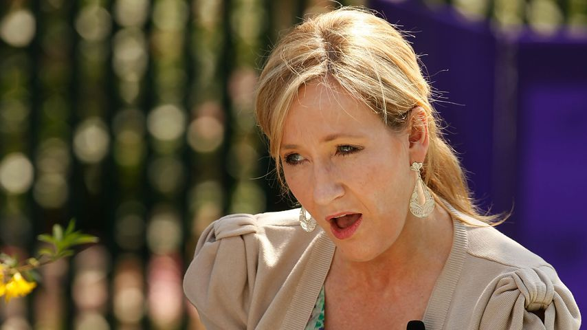 "J.K. Rowling bei einer ""Harry Potter""-Lesung"