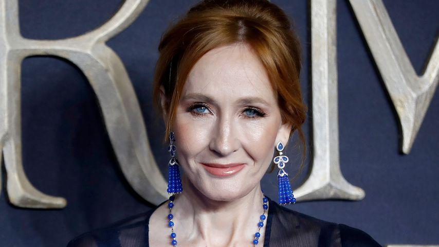 J.K. Rowling auf einer Filmpremiere im November 2018