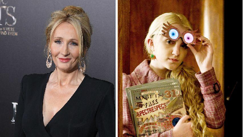 """Rowling und Evanna kannten sich vor """"Harry Potter""""-Filmen"""