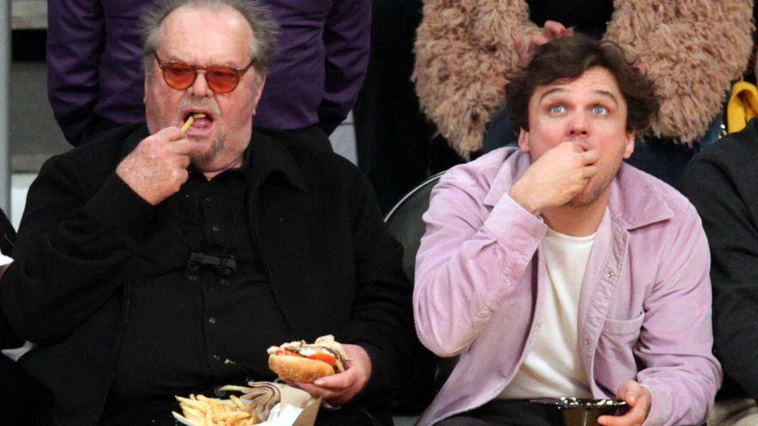 Jack Nicholson und Sohn Raymond