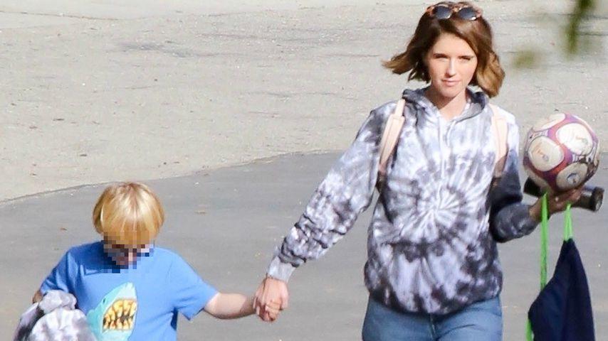 Fußball-Stiefmama: Katherine holt Chris Pratts Sohn ab!
