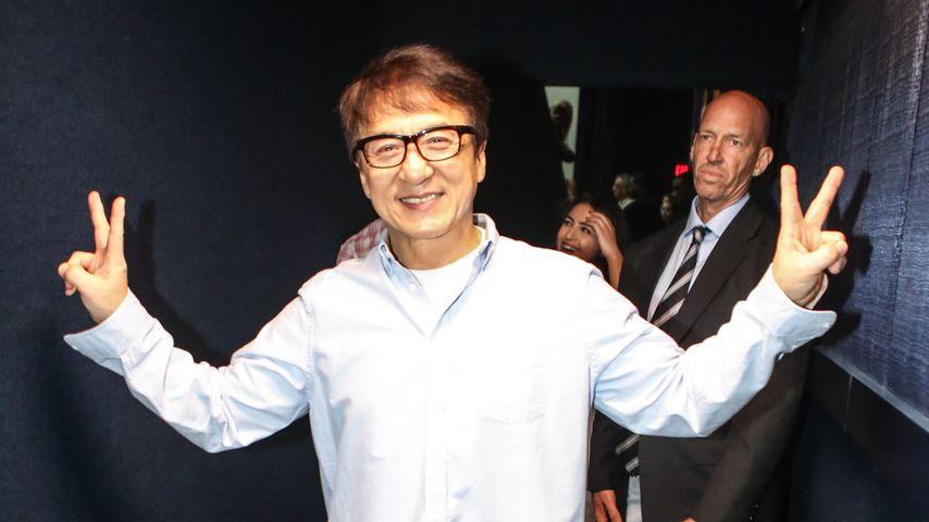 """Jackie Chan bei einem Screening von """"The Foreigner"""""""