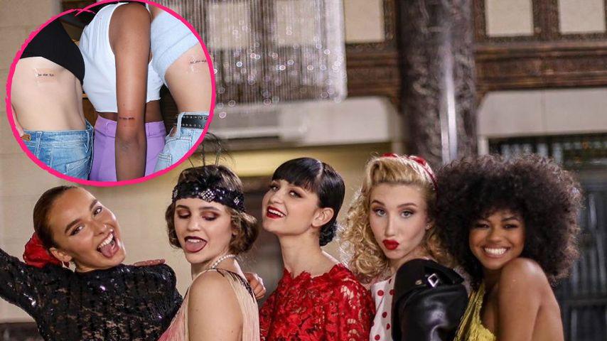 Diese GNTM-Girls ließen sich Freundschafts-Tattoos stechen!
