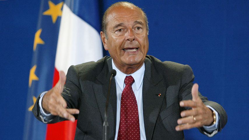 Jacques Chirac im September 2002
