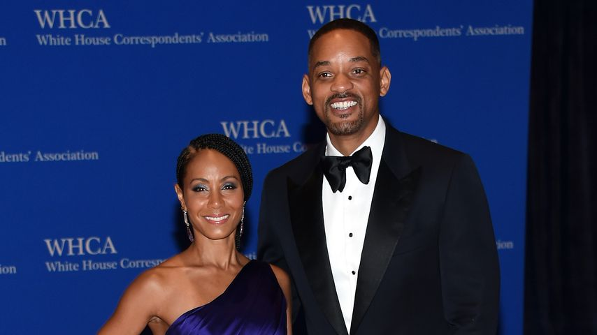 Jada Pinkett-Smith und Will Smith beim Correspondents' Association Dinner im Weißen Haus
