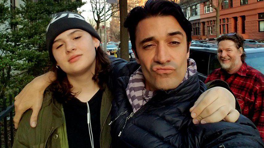 Jade Logue und Gilles Marini in Brooklyn