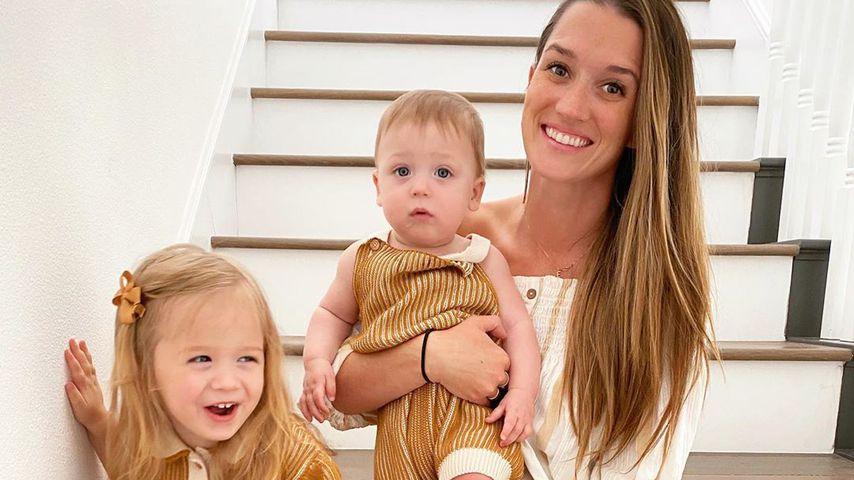 Jade Roper Tolbert mit ihren zwei Kids