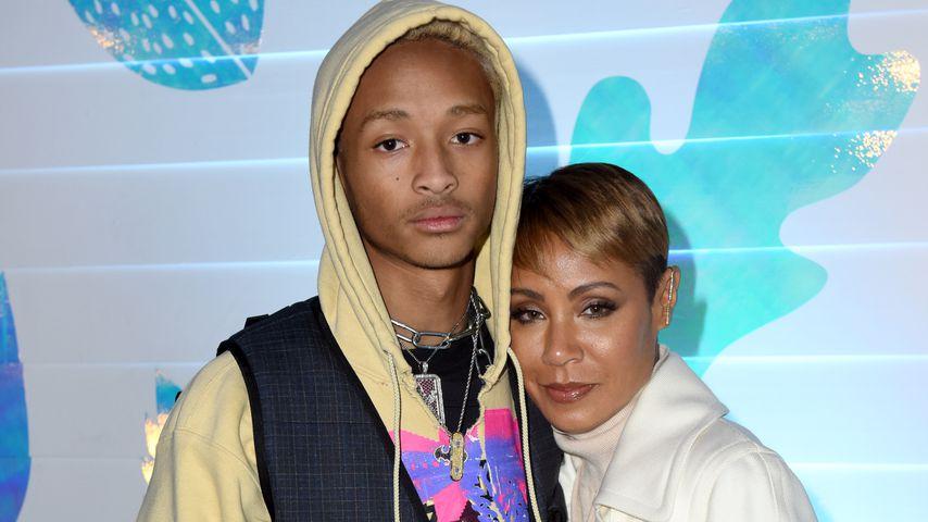 Jaden Smith und seine Mutter Jada Pinkett-Smith, Januar 2019