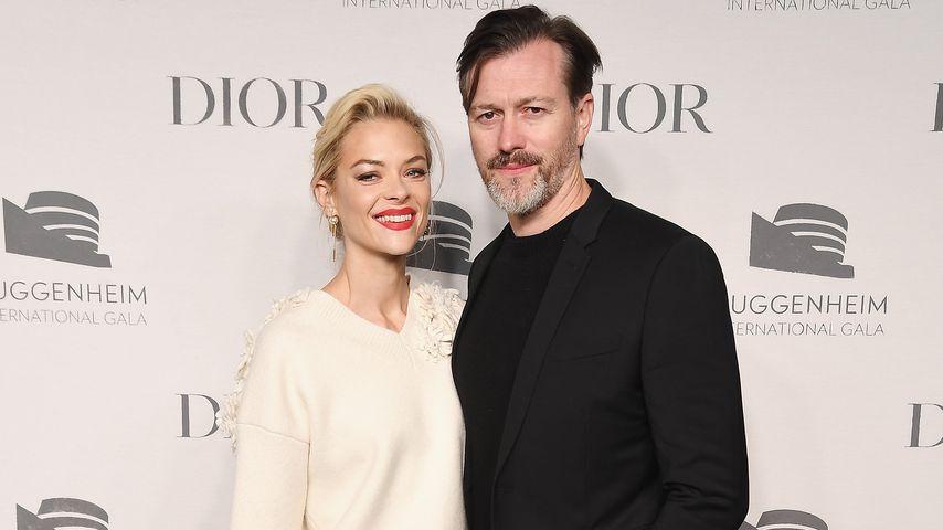 Jaime King und Kyle Newman auf einer Pre-Gala-Party in NYC im November 2018