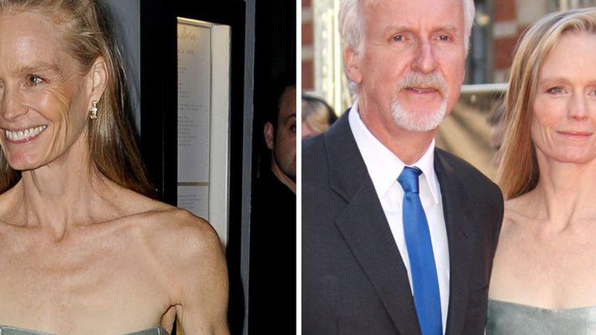 Extrem mager: James Camerons Frau total knochig