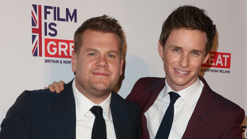 "James Corden und Eddie Redmayne bei der ""Film Is GREAT"" Gala"